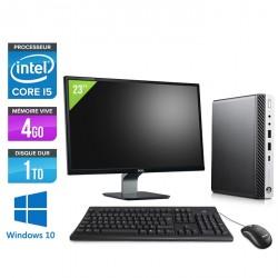 "HP EliteDesk 800 G3 DM - Windows 10 + Écran 23"""