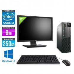 Lenovo ThinkCentre M81 Desktop + Ecran 22'' - Windows 10