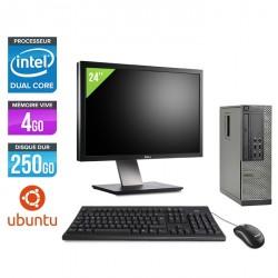 Dell Optiplex 7010 SFF - Linux - Ecran 24''