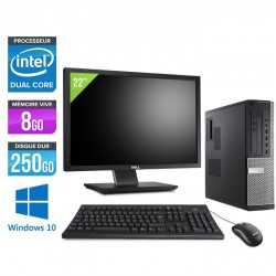 Dell Optiplex 7010 DT - Windows 10 - Ecran 22''