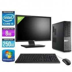 Dell Optiplex 790 Desktop + Ecran 22''