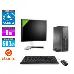 HP 6300 Pro SFF - Ubuntu / Linux + Ecran 19''