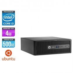 HP ProDesk 400 G3 SFF - Ubuntu / Linux