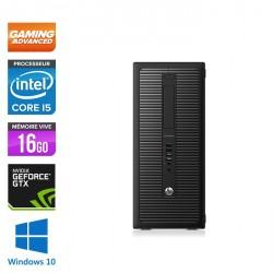 HP EliteDesk 800 G1 Tour - Gamer - Windows 10