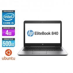 HP EliteBook 840 - Linux
