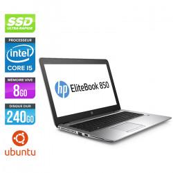 HP EliteBook 850 G3 - Ubuntu / Linux