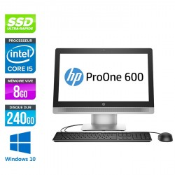 PC Tout-en-un HP ProOne 600 G2 AiO - Windows 10