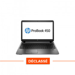 HP Probook 450 G2 - Windows 10 - Déclassé