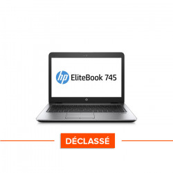 HP EliteBook 745 G4 - Windows 10 - Déclassé