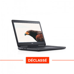 Dell Precision 7520 - Windows 10 - Déclassé