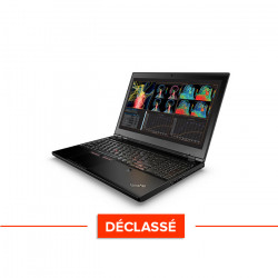 Lenovo ThinkPad P50S - Windows 10 - Déclassé