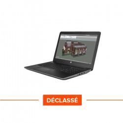 HP Zbook 15 G3 - Windows 10 - Déclassé