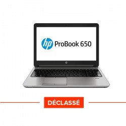 HP Probook 650 G2 - Windows 10 - Déclassé