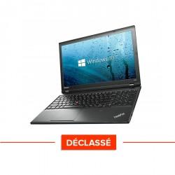 Lenovo ThinkPad L540 - Windows 10 - Déclassé