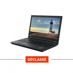 Lenovo ThinkPad W540 - Windows 10 - Déclassé