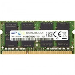 Barrette mémoire portable SAMSUNG SO-DIMM DDR3 PC3L-12800s - 8 Go 1600 MHz -  M471B1G73QHOYKO