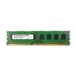Barrette mémoire RAM Micron DIMM DDR3 PC3-10600U - 4 Go 1333 MHz - MT16JTF51264AZ-1G4M1