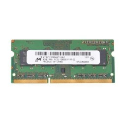 Barrette mémoire RAM Micron SO-DIMM DDR3 PC3L-12800S - 4 Go 1600 MHz - MT8KTF51264HZ-1G6J1
