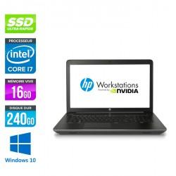 HP Zbook 17 G3 - Windows 10 - Neuf