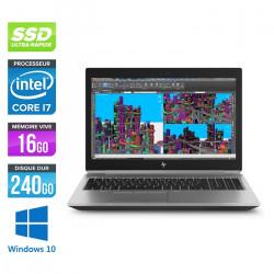 HP Zbook 15 G5 - Windows 10