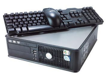 Pc occasion Dell Optiplex GX745 SFF + Clavier + Souris