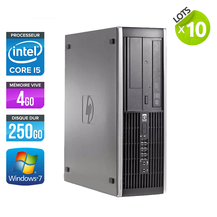Lot de 10 HP Elite 8100 SFF