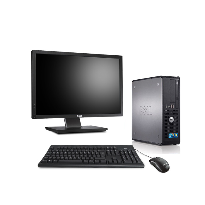 Dell 780 SFF - Windows 10 + Ecran 22'