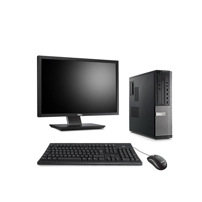 Dell Optiplex 7010 Desktop - Windows 10 + Ecran 22''