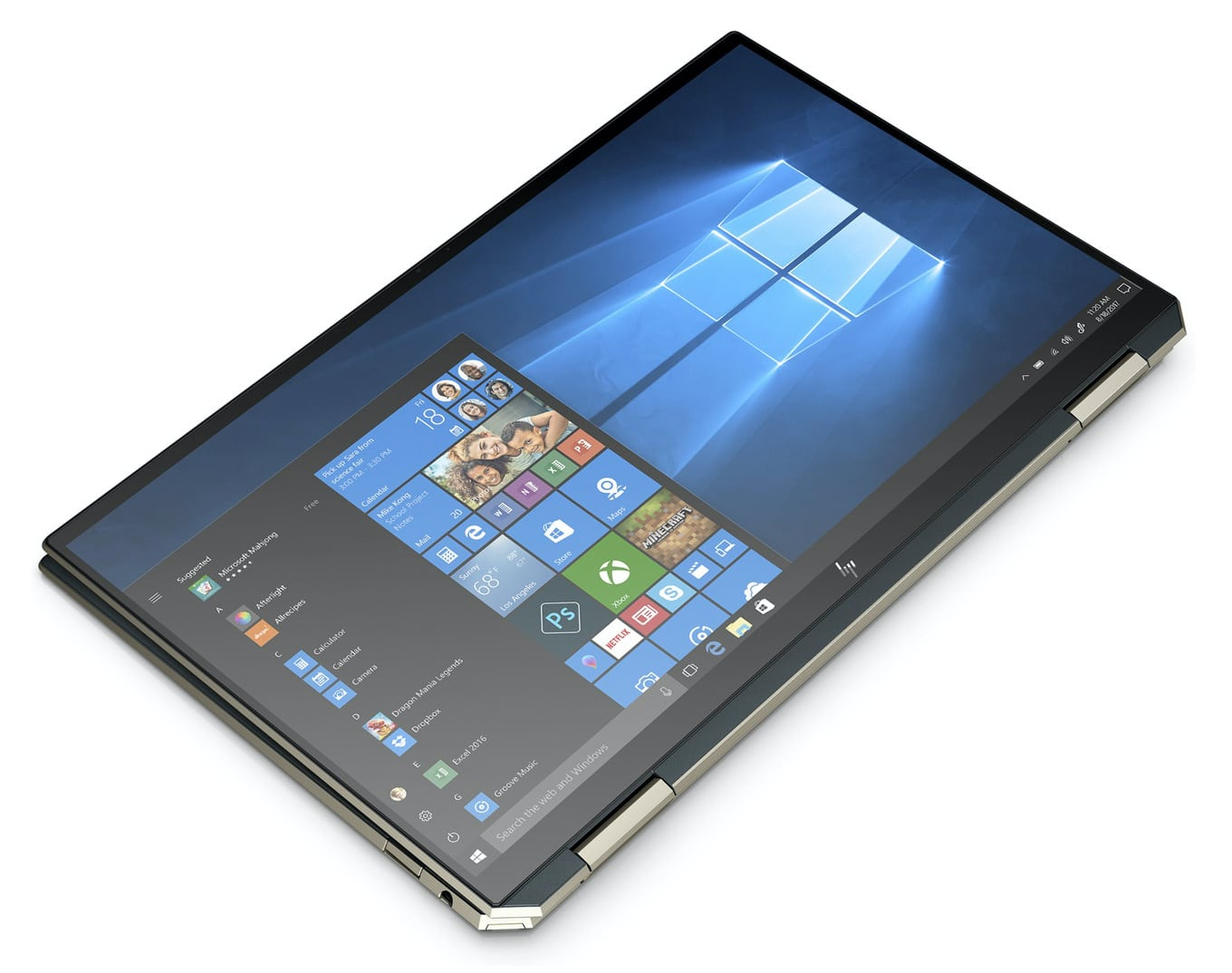 HP Spectre 13-aw0009nf tab