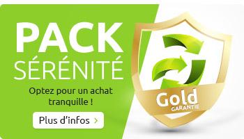 Pack Sérénité - Garantie jusqu'à 2 ans