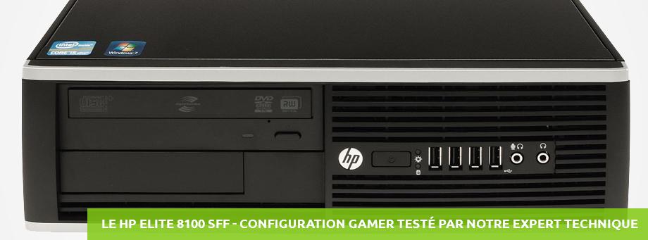 HP ELITE 8100 SFF Gamer