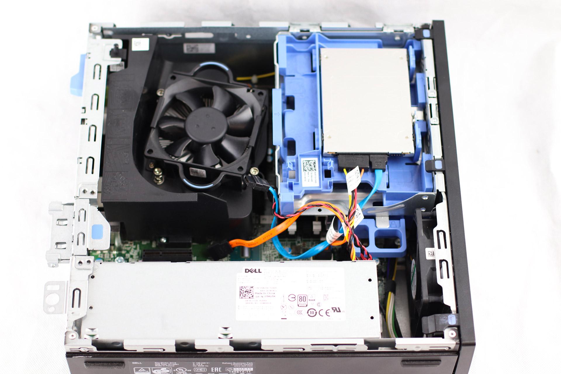 Dell 7040 SFF - intérieur châssis