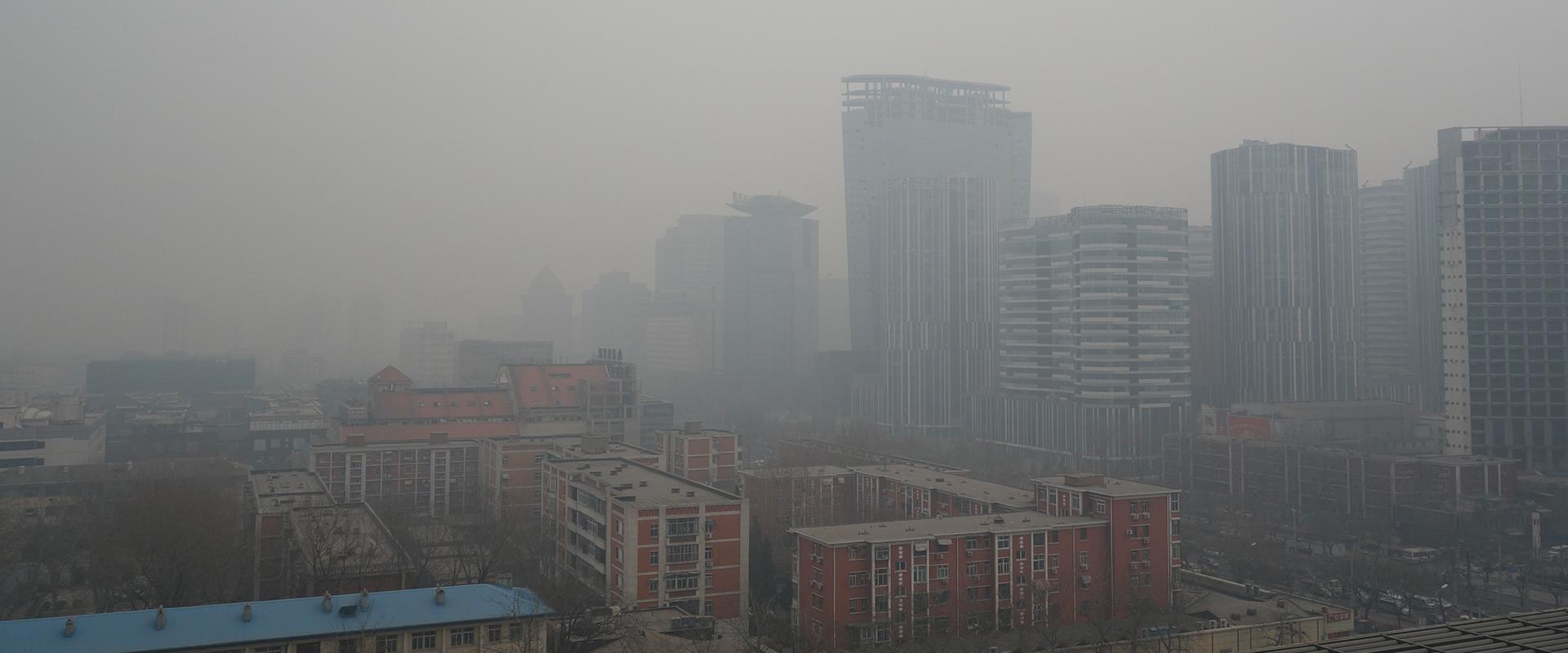 ville chinoise en proie à la pollution