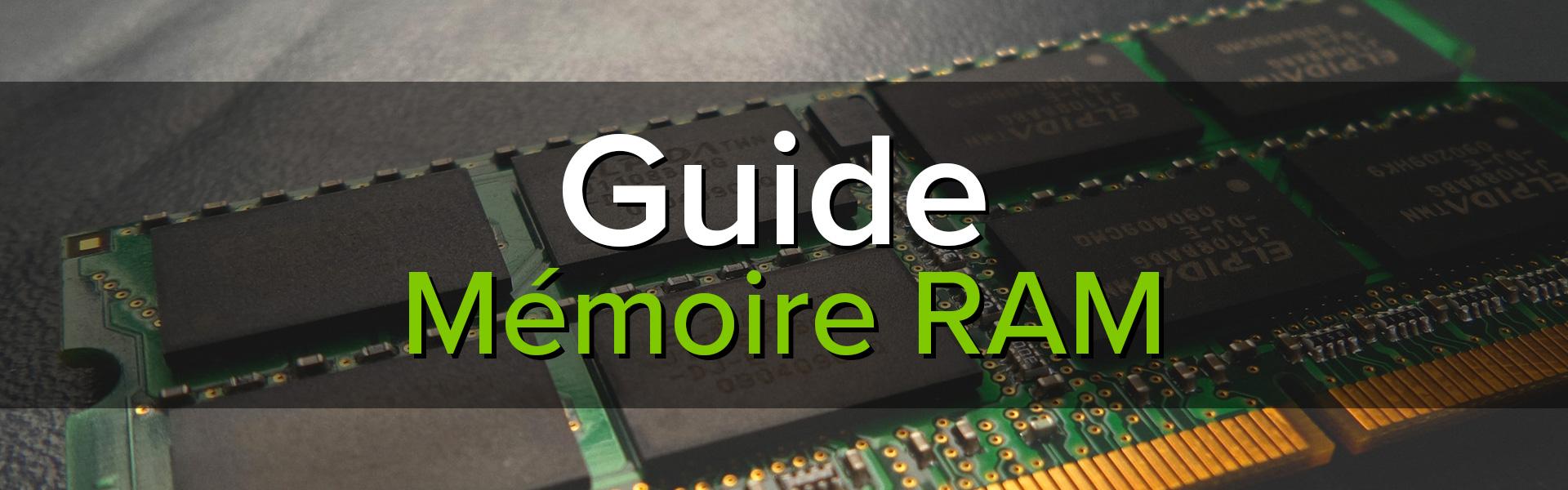 Bannière mémoire RAM