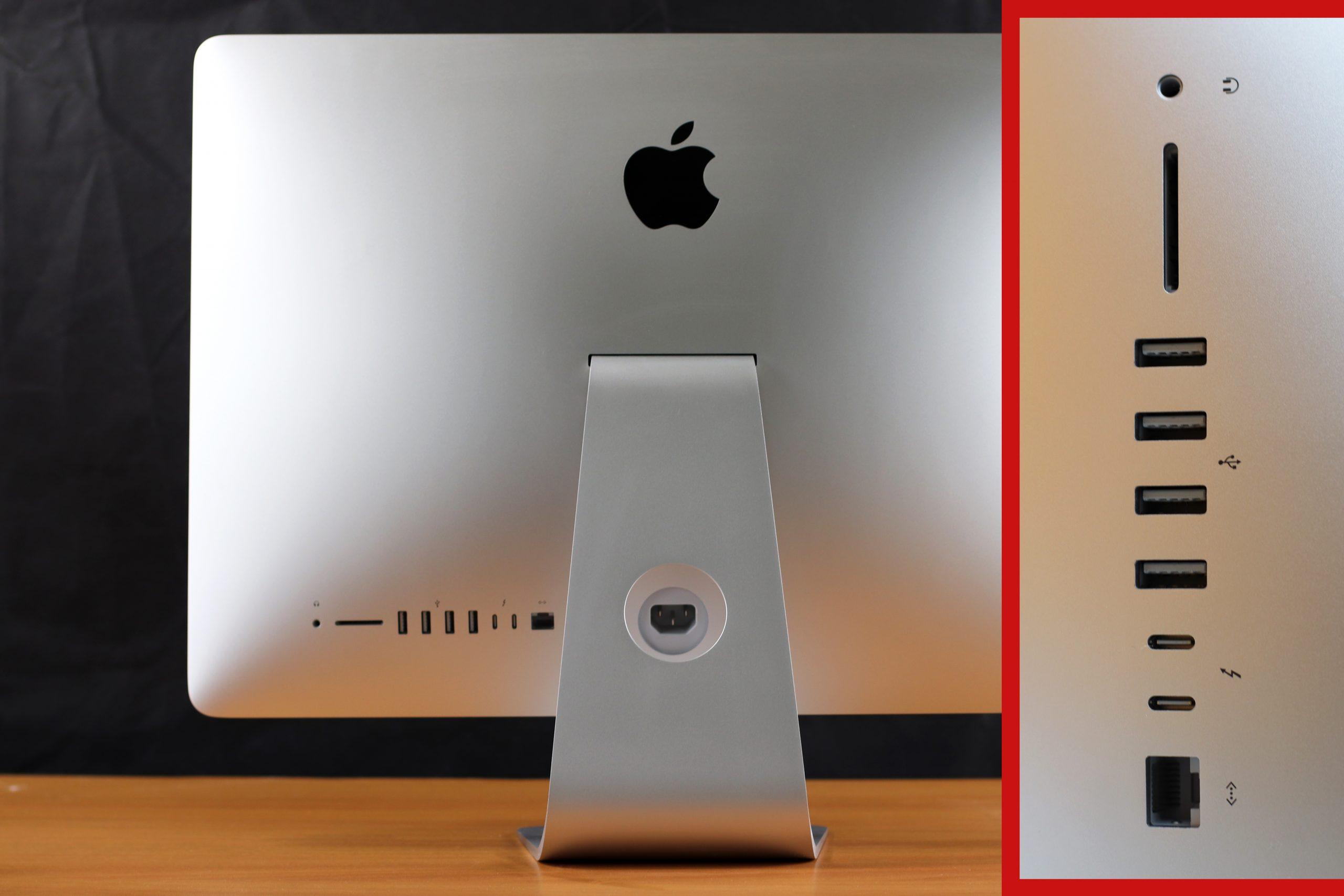 Connectique Apple iMac 21.5