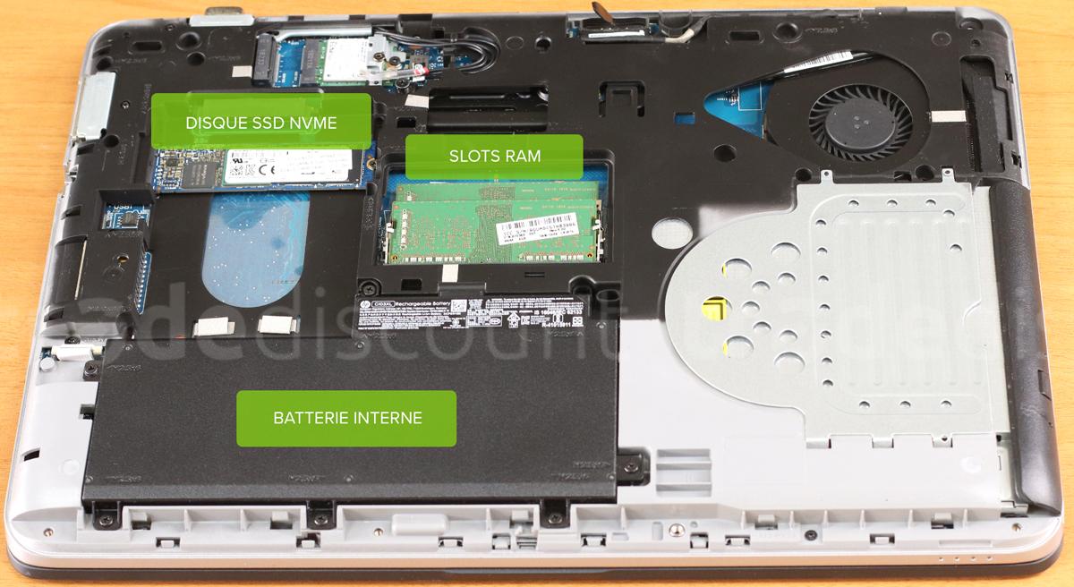 Composants pc portable reconditionné HP ProBook 645 G3